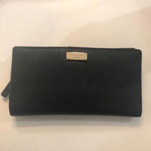 Black Kate Spade Wallet - Used